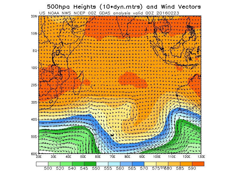 latest 500mb heights