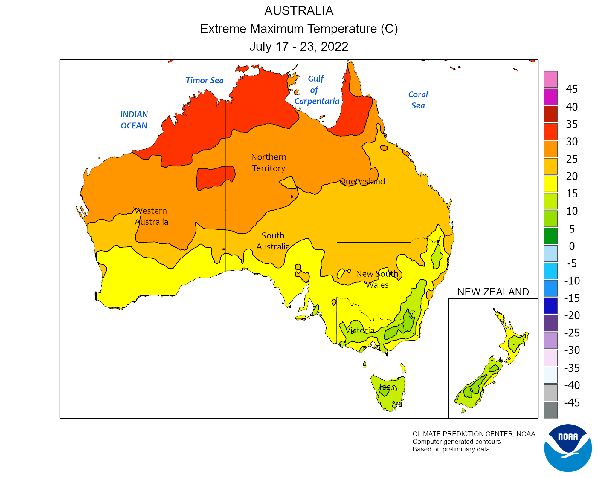 Australia Map Climate.Climate Prediction Center Monitoring And Data Regional Climate