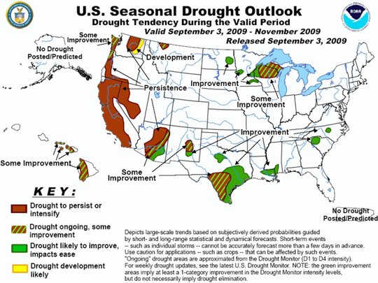 Seasonal Drought Outlook graphic