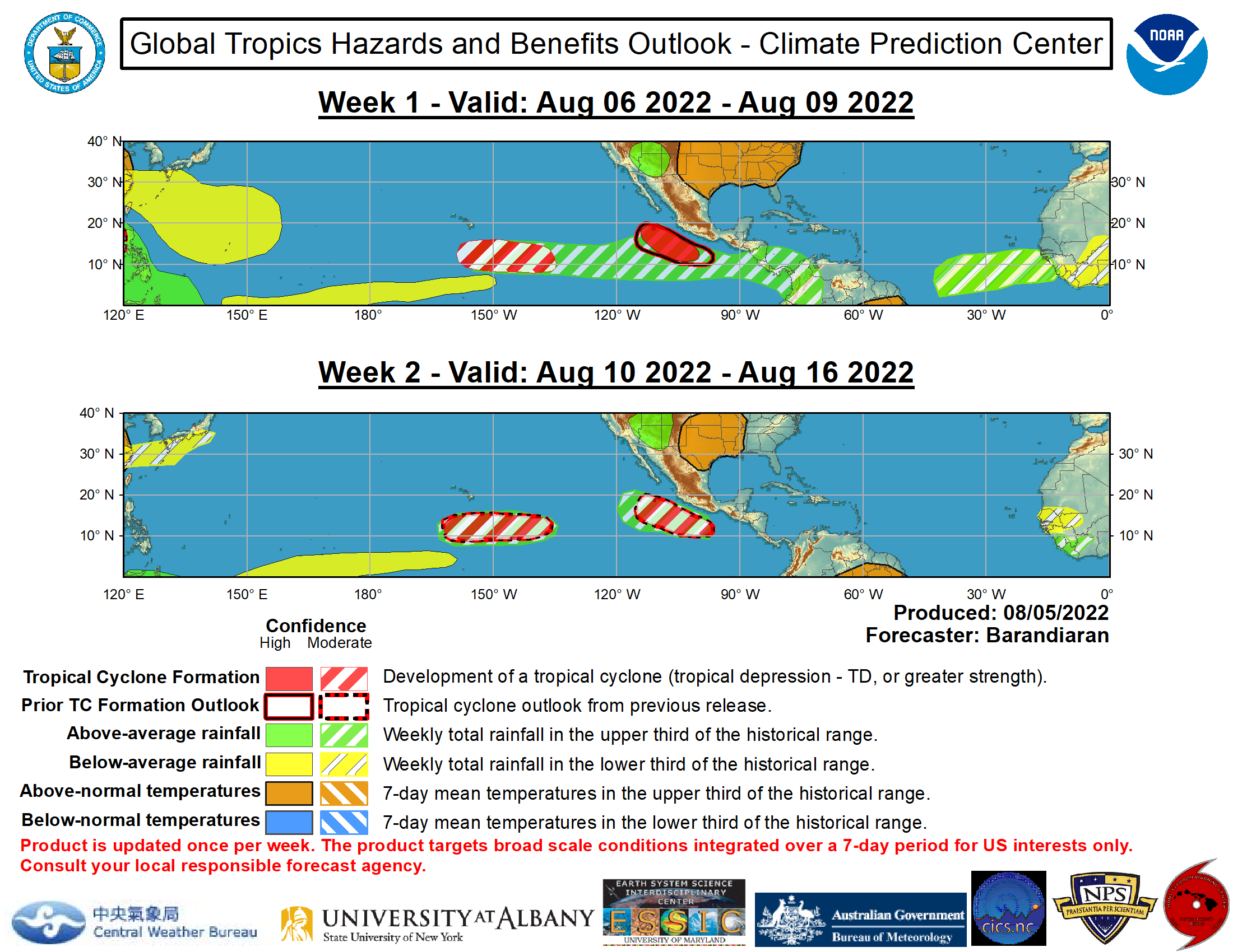 Global Tropics Outlook